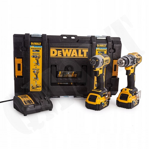 Zestaw Combo DeWalt DCK2500P2B 2x5Ah DCD797 DCF888